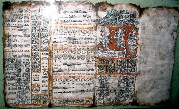 "Pages of the ""Dresden"" Maya codex"