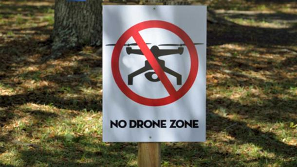 Drones may not be permitted in some areas of archaeological interest. (CC0)