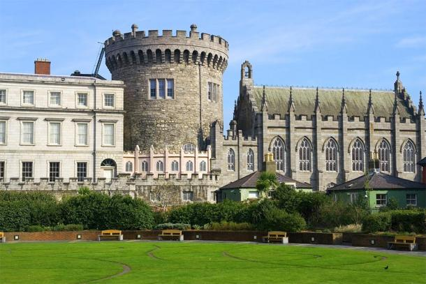 Dublin Castle in modern-day Ireland. (Artur Bogacki / Adobe stock)