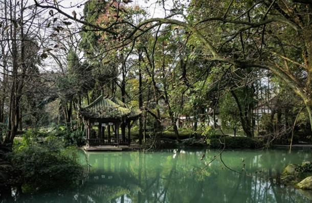 Dujiangyan helps humans control waterflow in a more natural way.