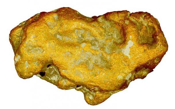 Duke of Sutherland's gold nugget from Kildonan.