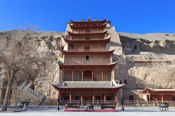 Dunhuang Mogao Grottoes.