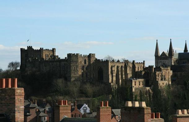 A view of Durham Castle, left, and Durham Cathedral, where some 3,000 Scottish prisoners of war were imprisoned after the Battle of Dunbar. The bodies were found near Durham Cathedral on the campus of the University of Durham.