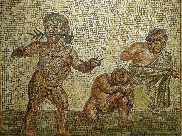 Dwarfs in the Roman Arena.