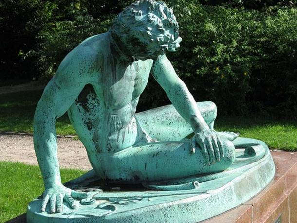 The Dying Gaul, Ørstedsparken in Copenhagen.