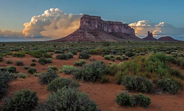 "Image credit © ""Eagle Mesa Storm Clouds"" Loree Johnson."