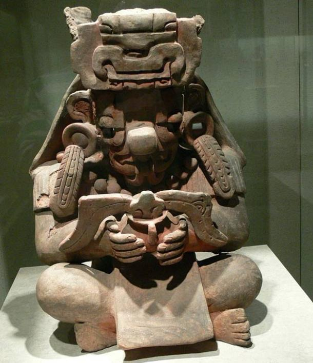 An Early Classic representation of Cocijo, the rain god, found at Monte Alban