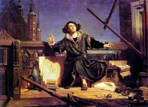 Early astronomers started to question whether other worlds would be like our own. Copernicus' Conversation with God