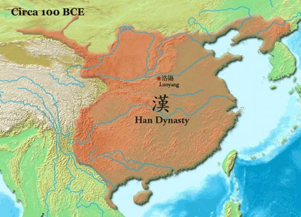 Early empire of Han Dynasty 100 BC (Chinese)