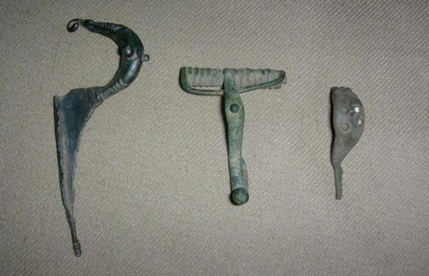 Early fibulae. 7th – 5th centuries BC.