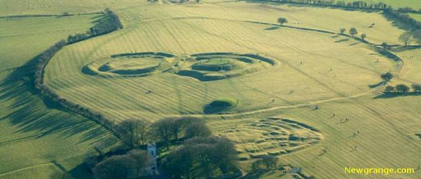 Earth Works on the Hill of Tara.