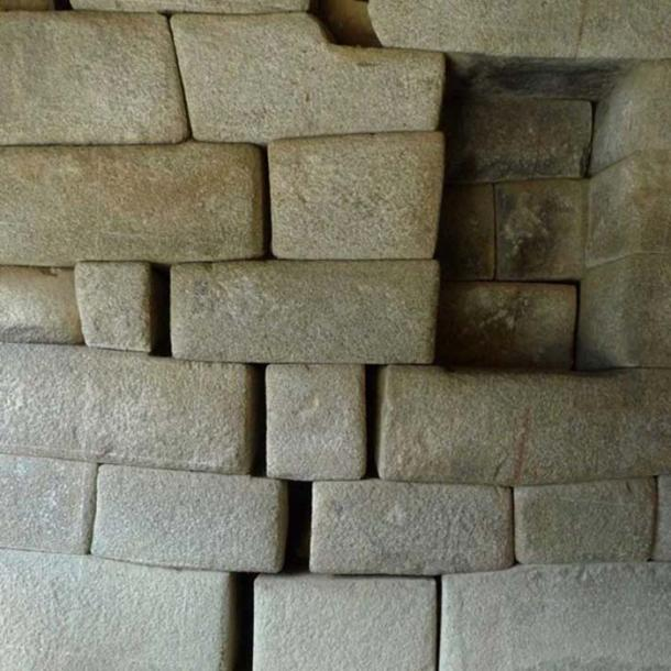 Earthquake recorded in about 1450 AD caused the separation of rocks in Machu Picchu. (Andina)