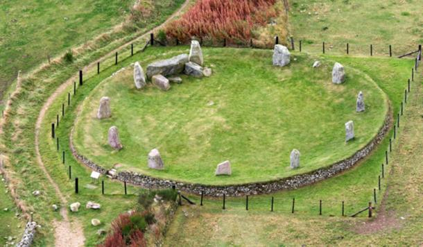 East Aquhothies Stone Circle. (Aberdeenshire Council)