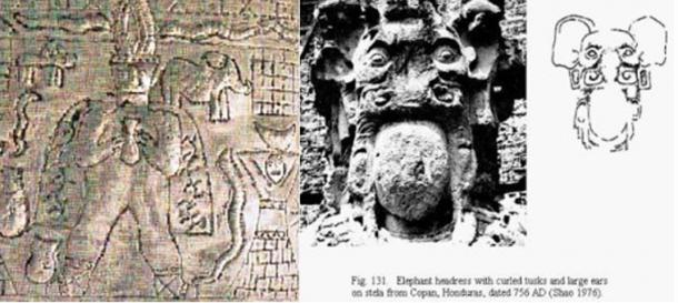Ecuador plate (left) – Credit: Crespi Collection. Copan, Honduras 756 AD – Credit: Shao (right) (Author provided)