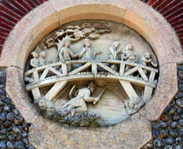 Edmund's capture at the bridge. (Author provided)