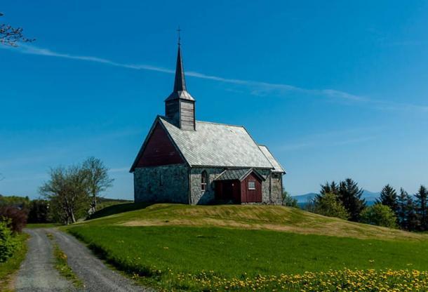 Edøy old Church