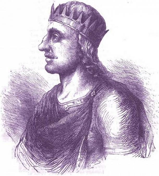 Egbert of Wessex. (Public Domain)