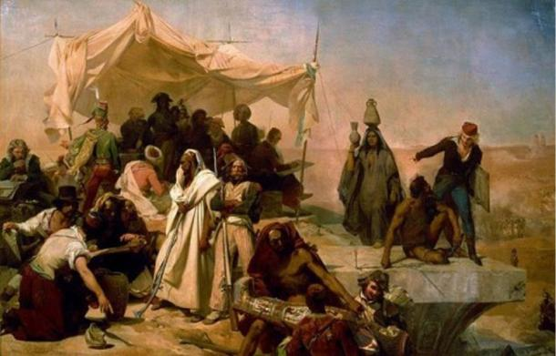 he Egyptian Expedition under the orders of Napoleon Bonaparte.