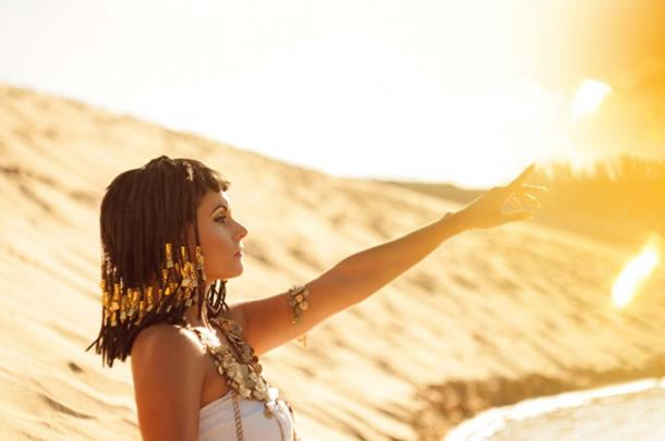 Egyptian Queen Cleopatra was reputed to bathe in milk infused with saffron oil. (Brodetskaya Elena / Adobe)