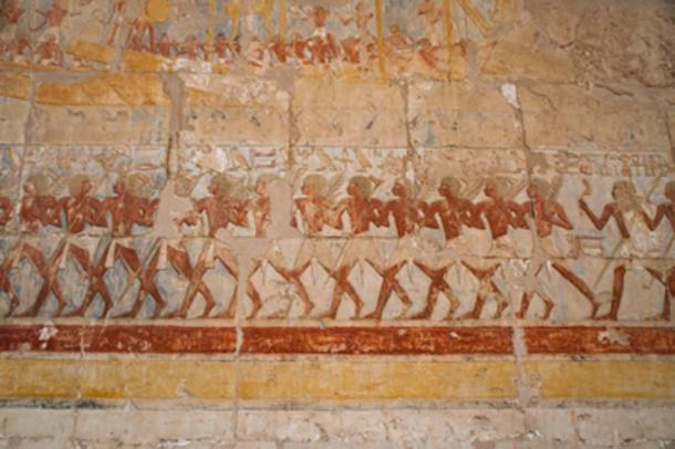 Egyptian bas reliefs line the path to the afterlife. (Zai Aragon / Adobe Stock)