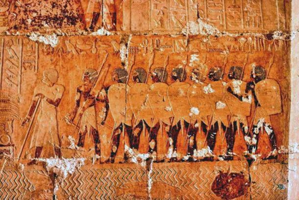 Egyptian expedition to Punt during the reign of Hatshepsut.