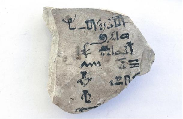 The world's first-known abecedary in ancient Egyptian hieratic script was deciphered by a Dutch Egyptologist in 2015.