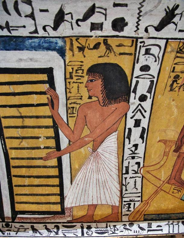Many ancient Egyptian letters have been found at Deir el-Medina, a New Kingdom village populated by artisans who worked on the tombs of the pharaohs in the Valley of the Kings