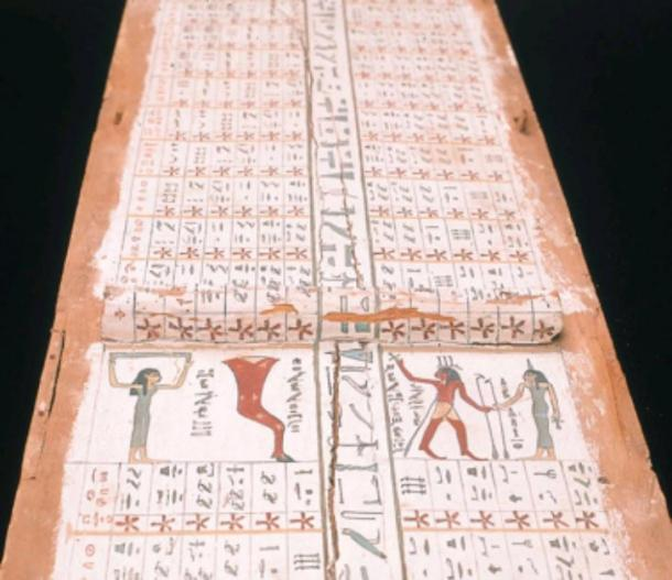 Egyptian Middle Kingdom star chart. (NebMaatRa / GNU General Public License)