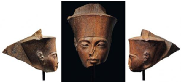 Egyptian officials are demanding that Christie's prove that the King Tut Statue left the Egypt legally. (Christie's)