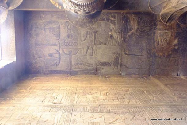 Egyptian scene with demons (Image via author)