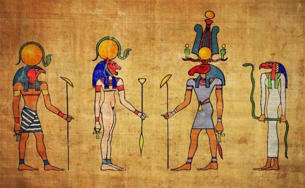 Egyptian gods. (siloto /Adobe Stock)