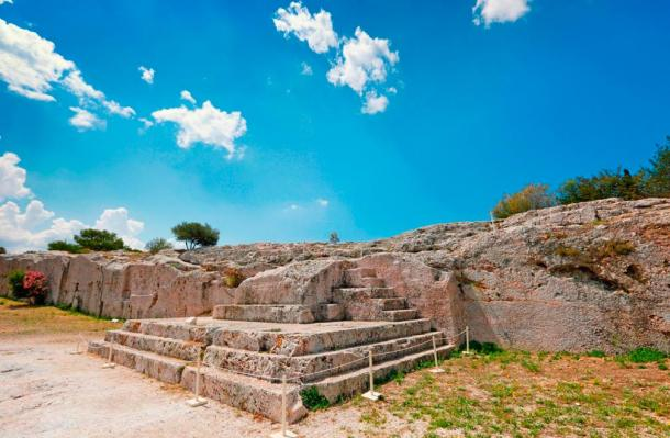 The Ekklesia in Athens convened on a hill called the Pnyx.