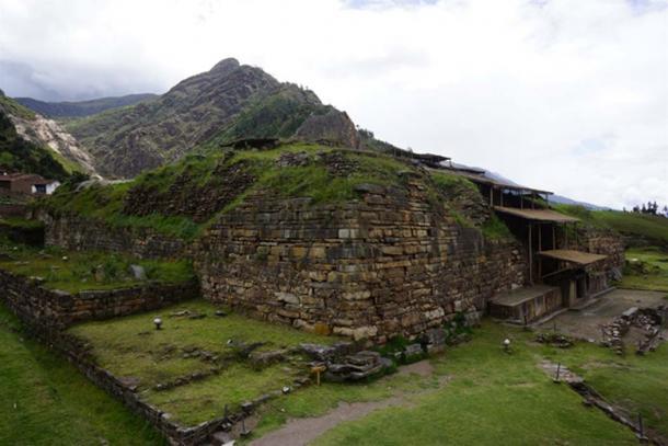 'El Castillo' (The Castle) at Chavin de Huantar, Peru. (Ministerio de Cultura de Perú)
