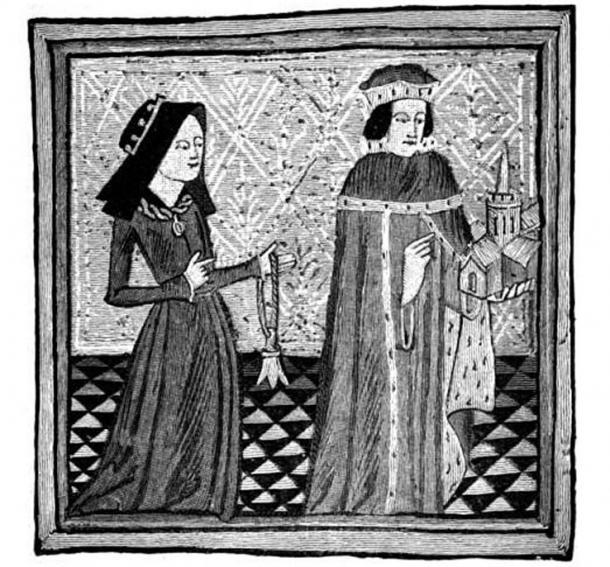 Humphrey & Eleanor of Gloucester.