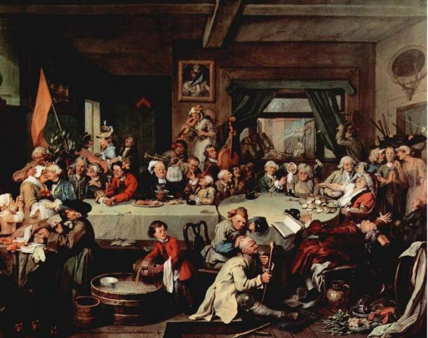An Election Entertainment. By William Hogarth