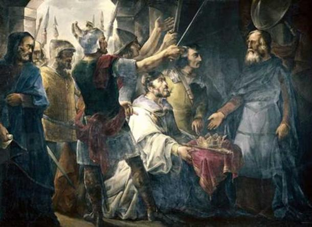 The Election of Wamba as King, by Francisco de Paula Van Halen