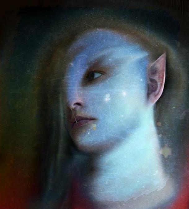 Elves were separated into 'light' and 'dark' beings.