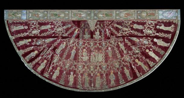 Embroidered Cope, 1330-1350, V&A Museum no. T.36-1955