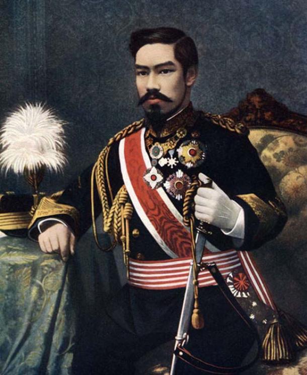 Emperor Meiji transformed the Chrysanthemum Throne into a modern empire. (Adece033090 / Public Domain)