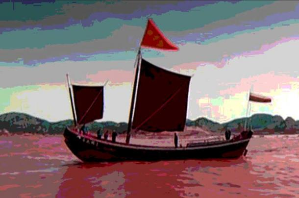 Emperor Zhou would cruise on his lake, scooping wine out of the lake below him. (quasuo / flickr)