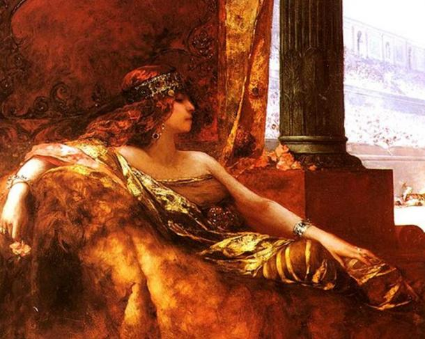 'The Empress Theodora at the Colosseum' by Jean-Joseph Benjamin-Constant