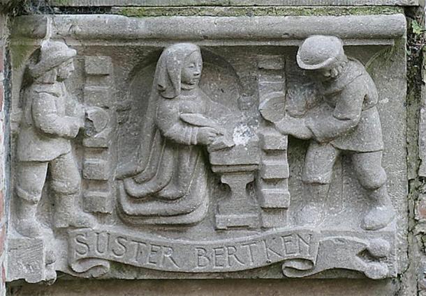 The Enclosure of Sister Bertken. Photo by E de Groot & S Pieters, University of Utrecht