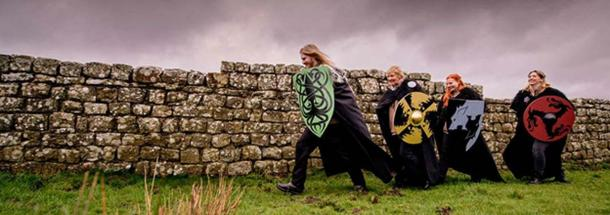 English Heritage's Watchers on the Wall are now on hand at four Roman forts along Hadrian's wall. (English Heritage)
