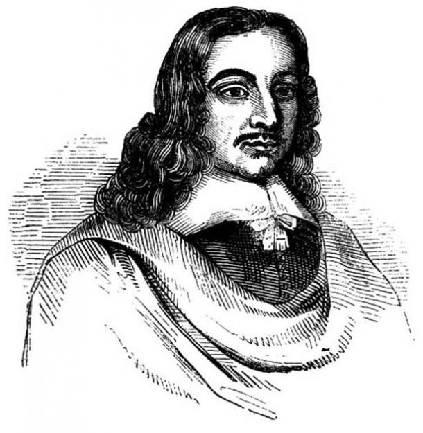 English astrologer John Gadbury studied the effects of astrology on disease. (Thomas Gun / Public Domain)