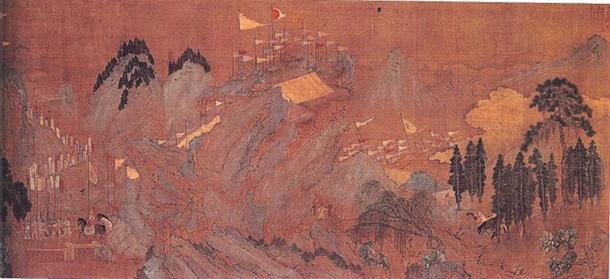 'Entry of the First Emperor of the Han Dynasty into Guanzhong' (early 12th century) by Zhao Boju. (Public Domain)