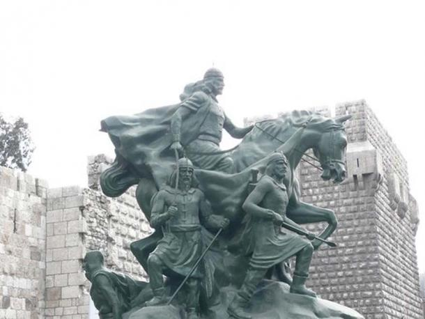 Equestrian statue of Saladin in the Citadel, Damascus, Syria, 2008. (Graham van der Wielen/CC BY 2.0)