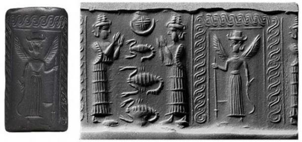 Ereshkigal, Queen of the Nether World. ( mesopotamiangods)