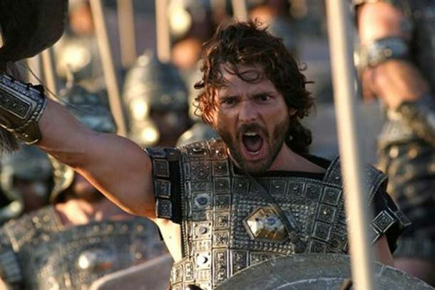 Eric Bana in Troy. (Troy) (Image: The Conversation)