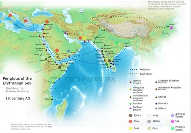Erythraean Sea, first century AD.