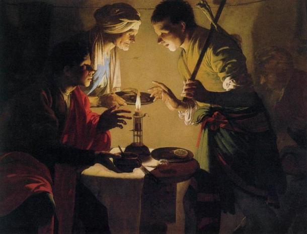 Esau Selling His Birthright (painting circa 1627 by Hendrick ter Brugghen)